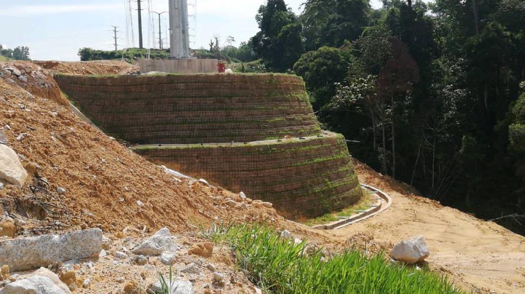 Geogrid Wall High Strength geotextile Secugrid Erosion Control Mat ECM HDPE Pipe