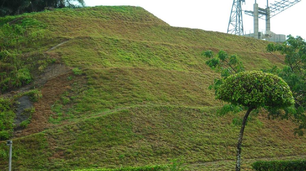 Slope Rehabilitation Works Erosion Control Mat